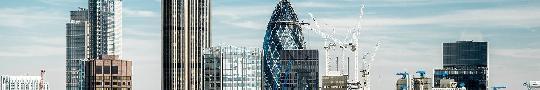 Top of the Gherkin in London